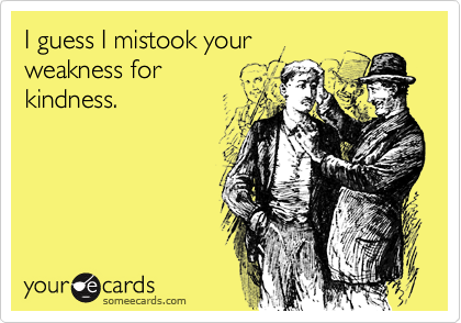I guess I mistook your
