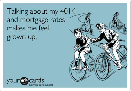 Talking about my 401K