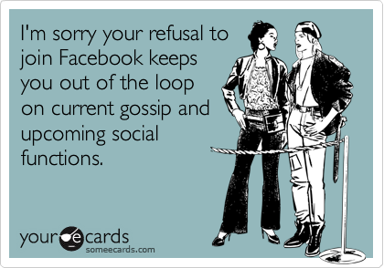 I'm sorry your refusal to
