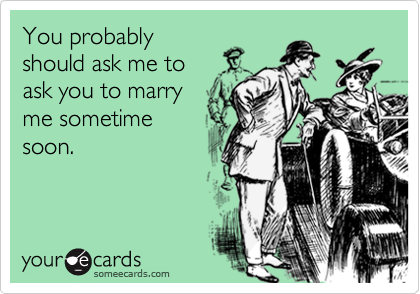 You probably