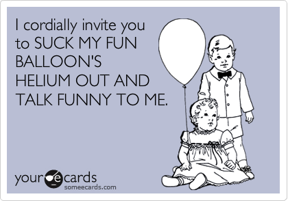 I cordially invite you