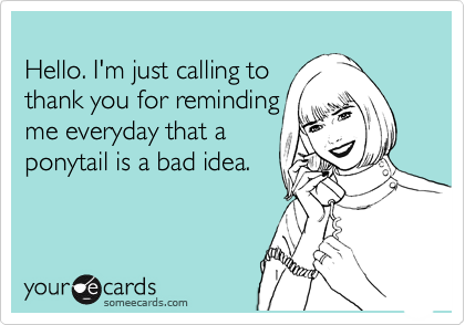 Hello. I'm just calling to