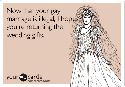 Now that your gay