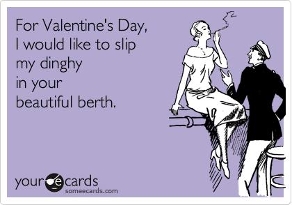 For Valentine's Day, 
