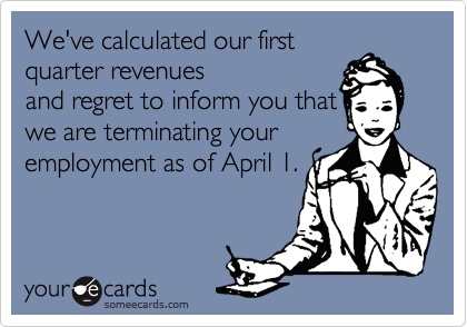 We've calculated our first
