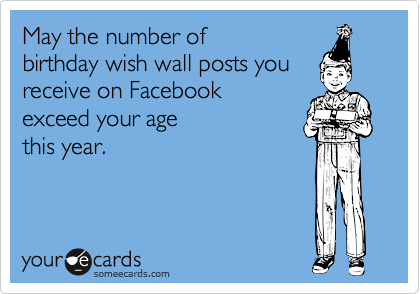 May the number of
