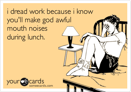 i dread work because i know