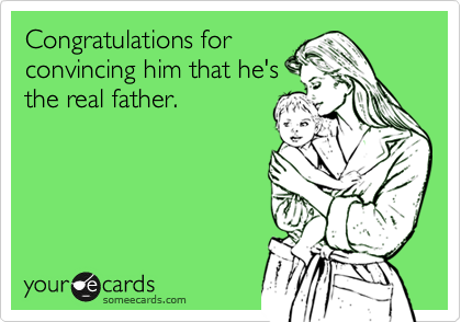 Congratulations for 