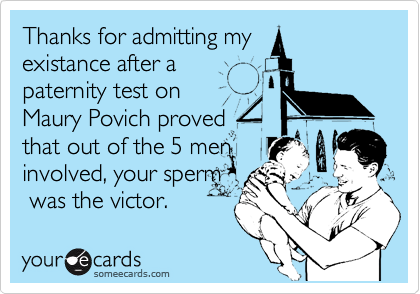 Thanks for admitting my