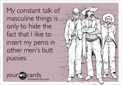 My constant talk of