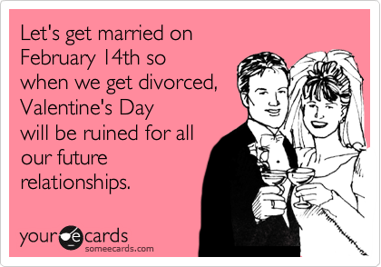 Let's get married on