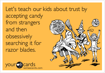 Let's teach our kids about trust by 