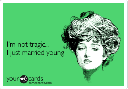 I'm not tragic...