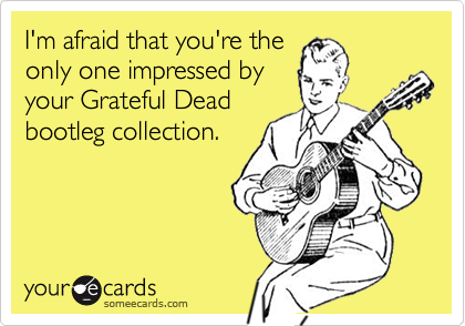 I'm afraid that you're the