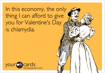 In this economy, the only