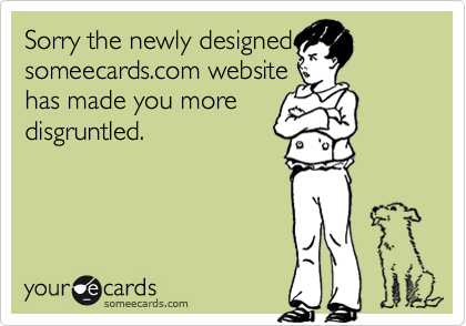 Sorry the newly designed