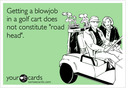Getting a blowjob