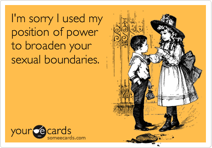 I'm sorry I used my