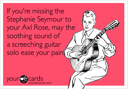 If you're missing the