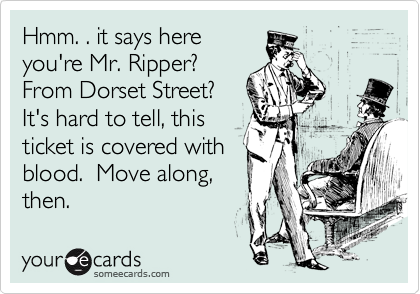 Hmm. . it says here