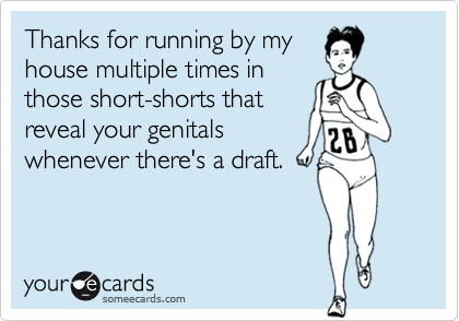 Thanks for running by my