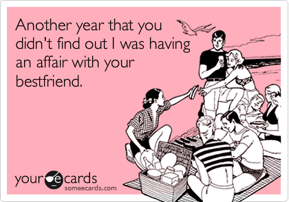 Another year that you 