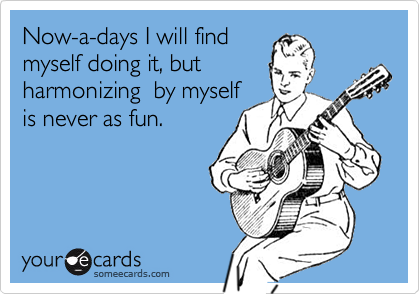 Now-a-days I will find
