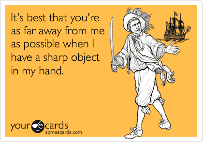 It's best that you're