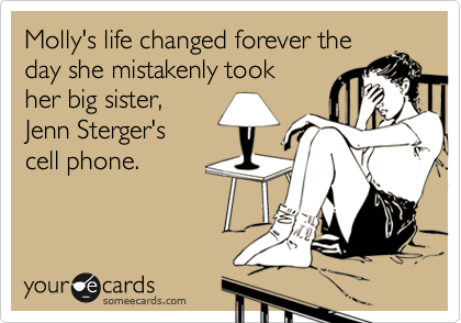 Molly's life changed forever the