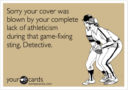 Sorry your cover was