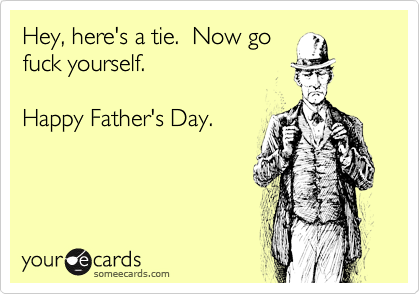 Hey, here's a tie.  Now go