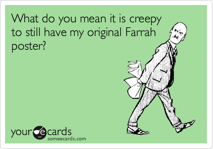 What do you mean it is creepy