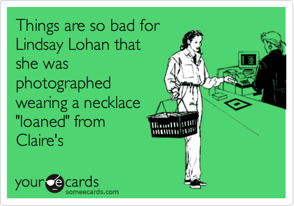 Things are so bad for