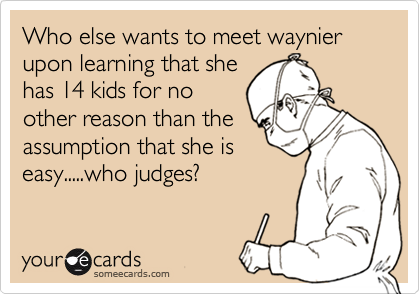 Who else wants to meet waynier upon learning that she