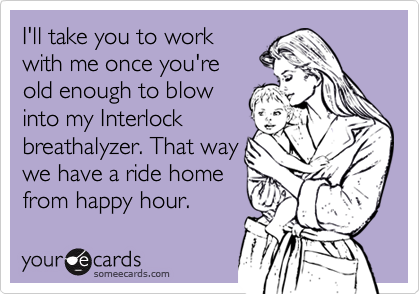 I'll take you to work