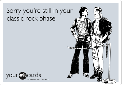Sorry you're still in your