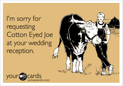 I'm sorry for