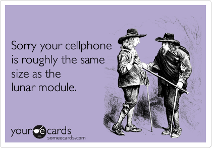 Sorry your cellphone