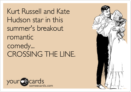 Kurt Russell and Kate