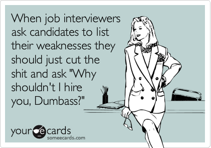 When job interviewers