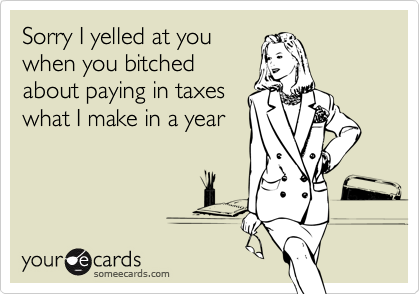 Sorry I yelled at you