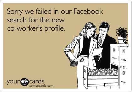 Sorry we failed in our Facebook search for the new