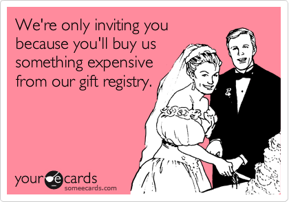 We're only inviting you