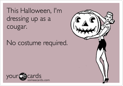 This Halloween, I'm