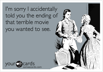 I'm sorry I accidentally