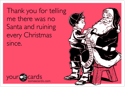 Thank you for telling