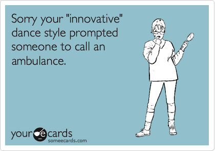 "Sorry your ""innovative""