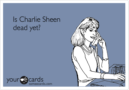 Is Charlie Sheen