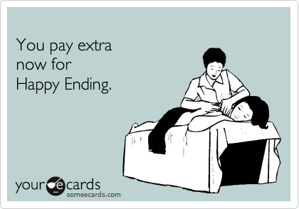 You pay extra 