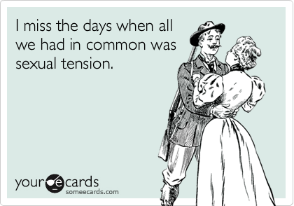 I miss the days when all